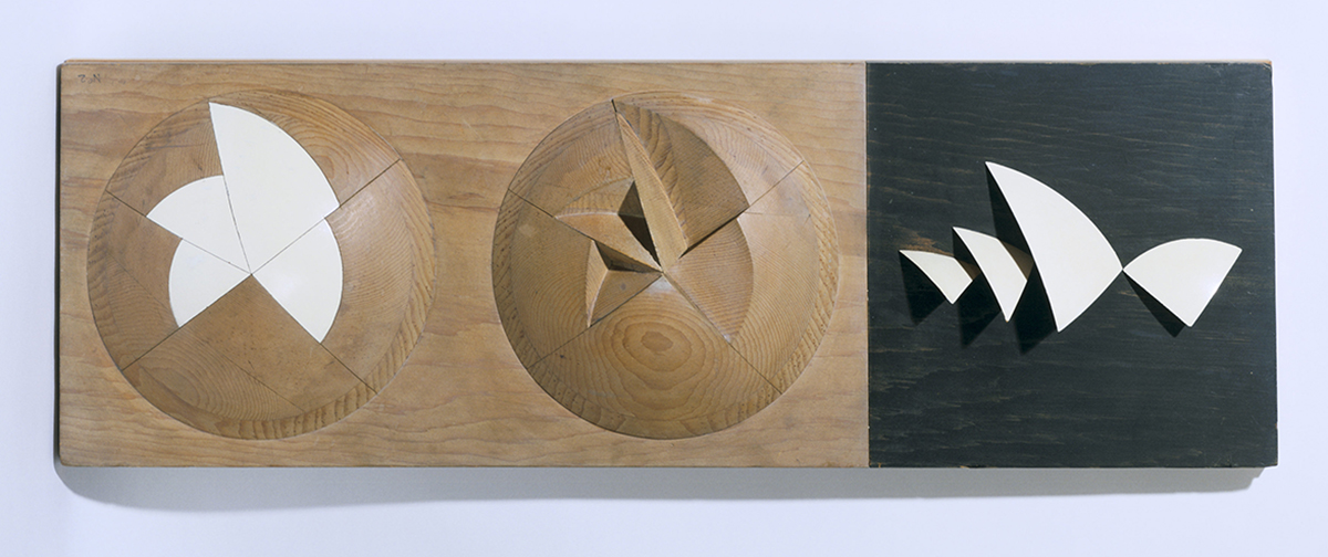 Wooden model showing a 'geometrical solution for the ... shells', Sydney Opera House, Sydney